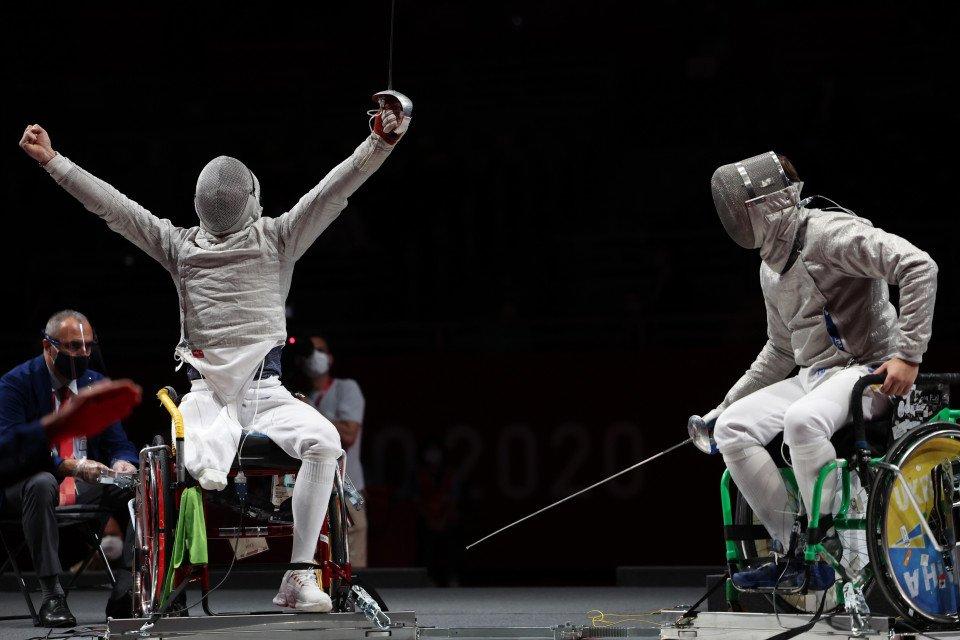 Євгенія Бреус здобула «бронзу» у фехтуванні на візках / Getty Images