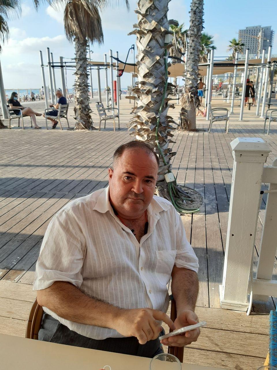 Борис Герман після звільнення одразу поїхав до Ізраеля / Інна Золотухіна
