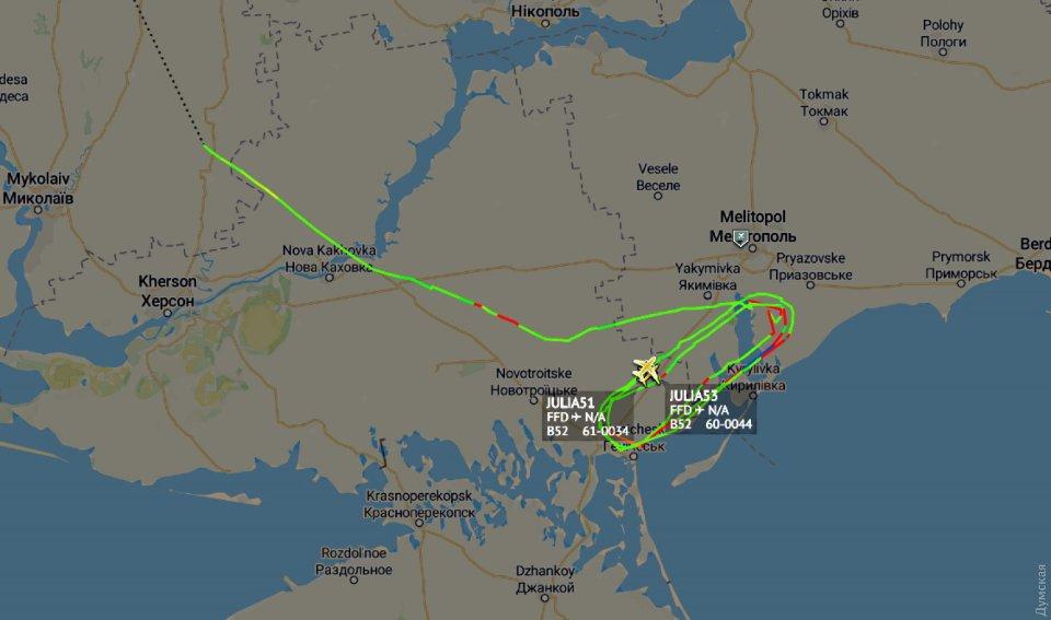 Трекер руху літаків