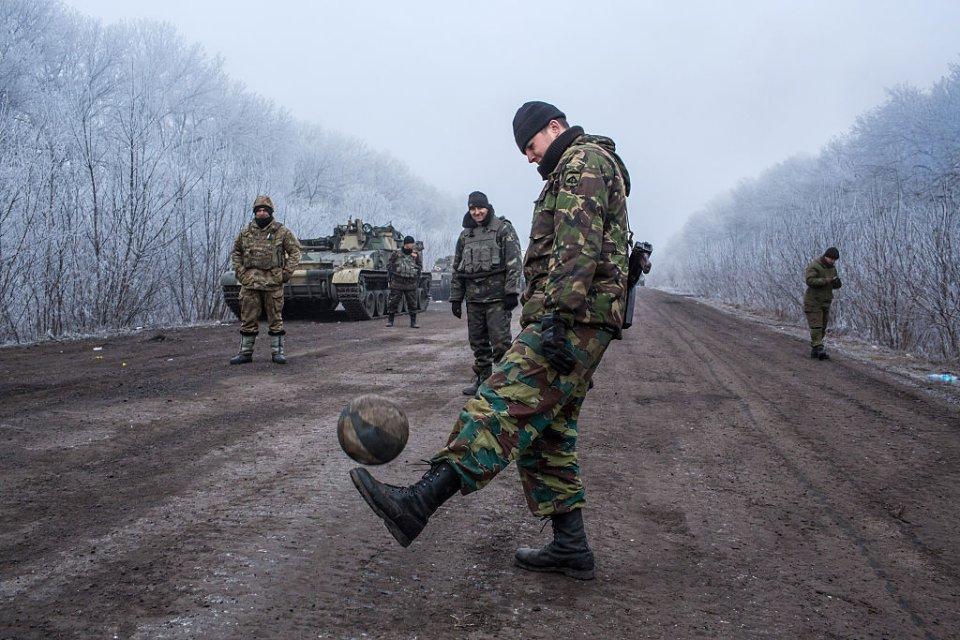 Бездіяльність розбещує солдат