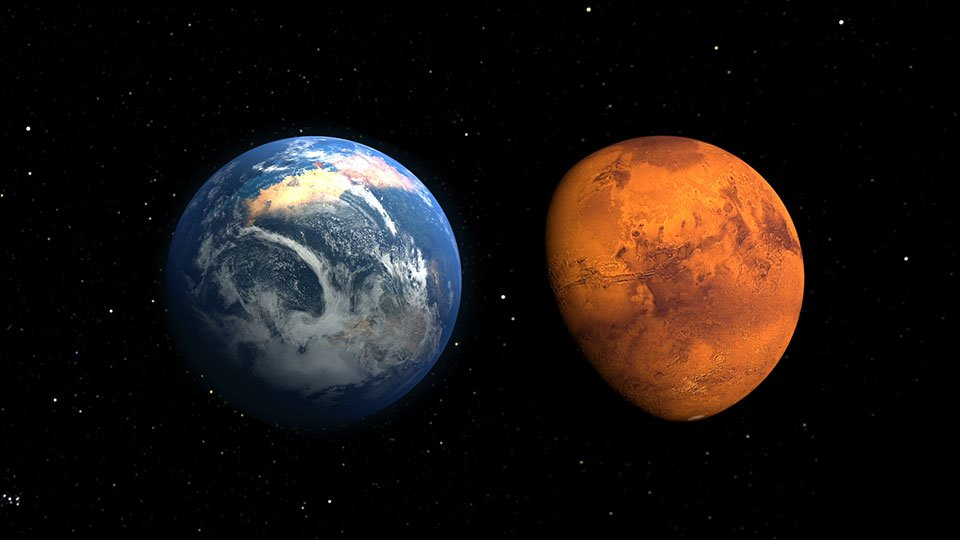 Колись Марс був теплішим та гостиннішим