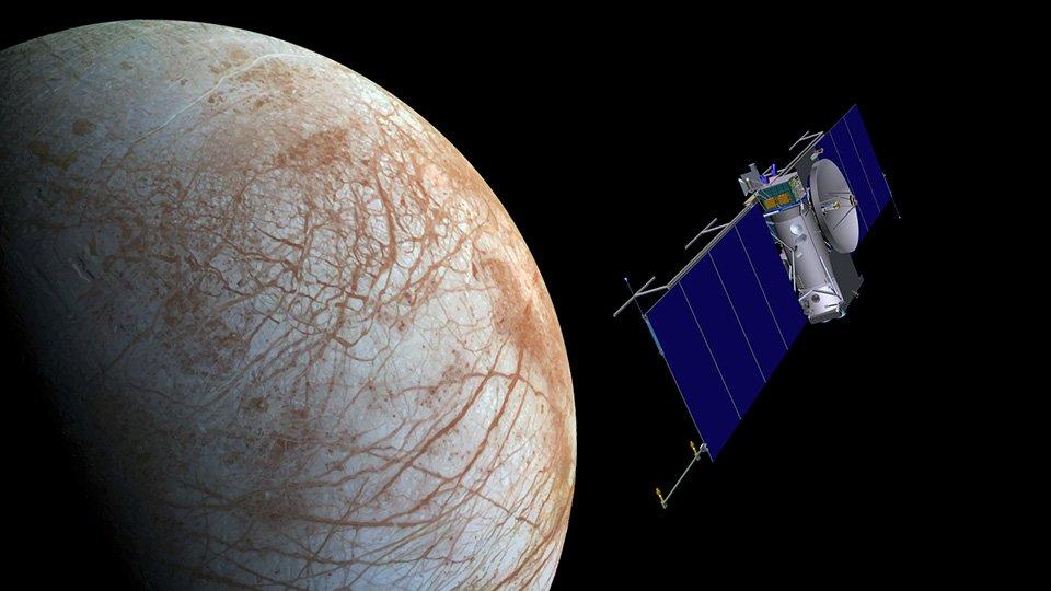 Європа — один із супутників Юпітера
