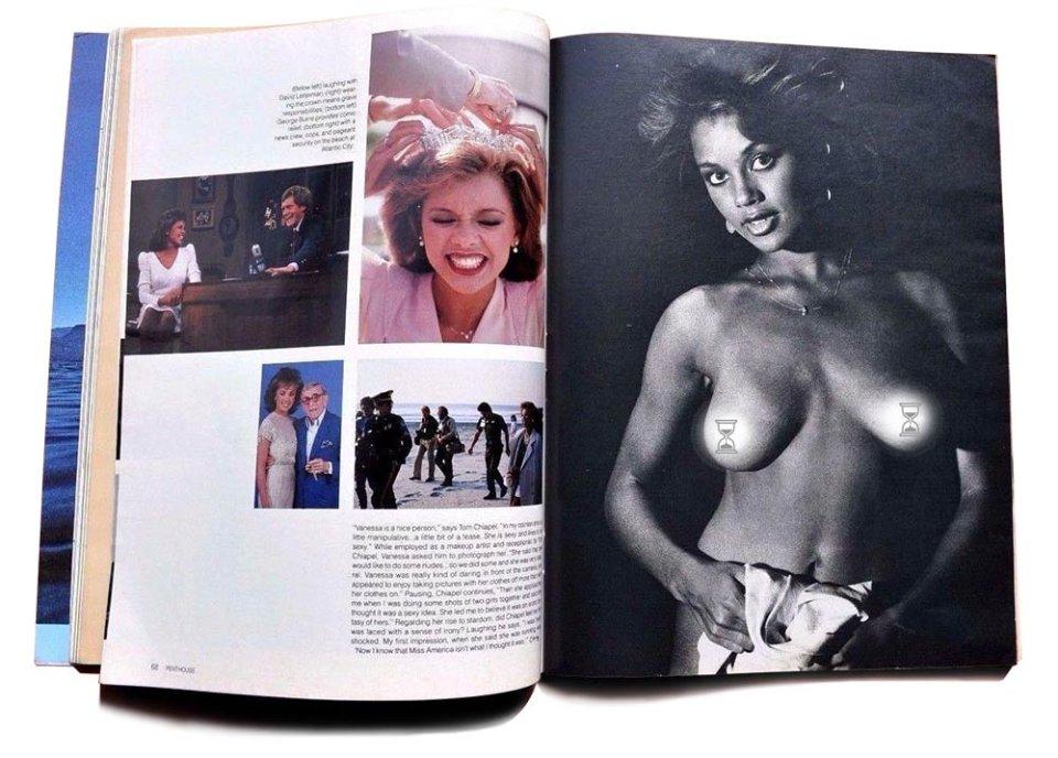 У вересневому випуску Penthouse 1984 року є і більш пікантні фото Місс Америка.