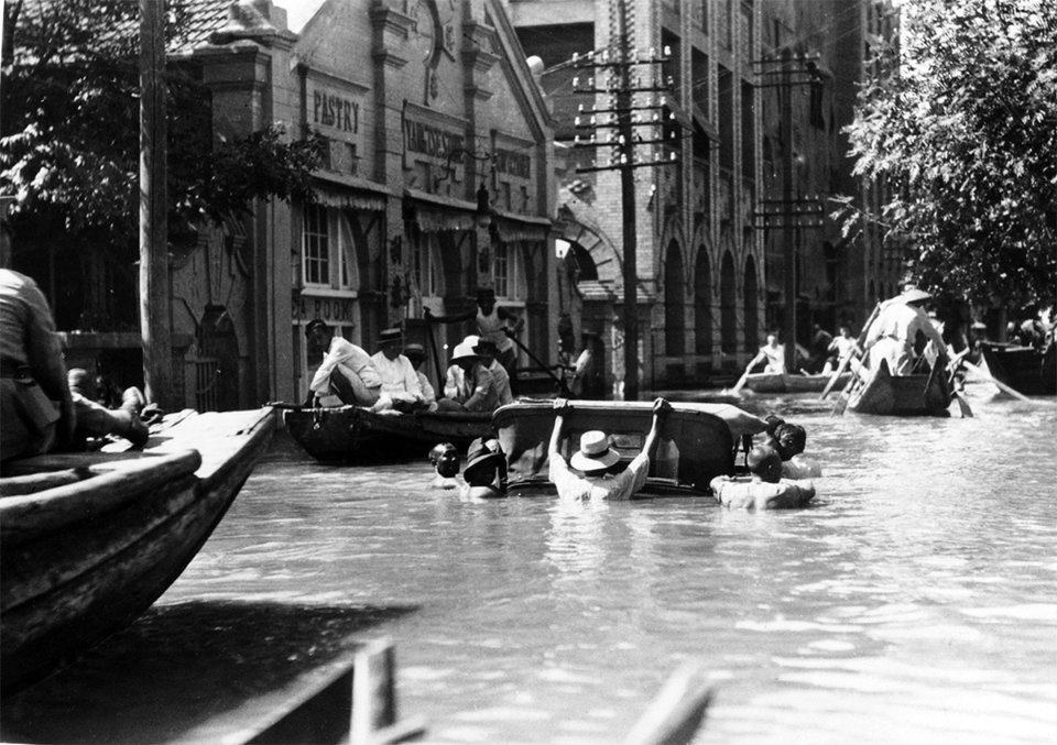 В августе 1931-го Янцзы и Хуанхэ вышли из берегов, затопив территорию, которая по площади больше Англии