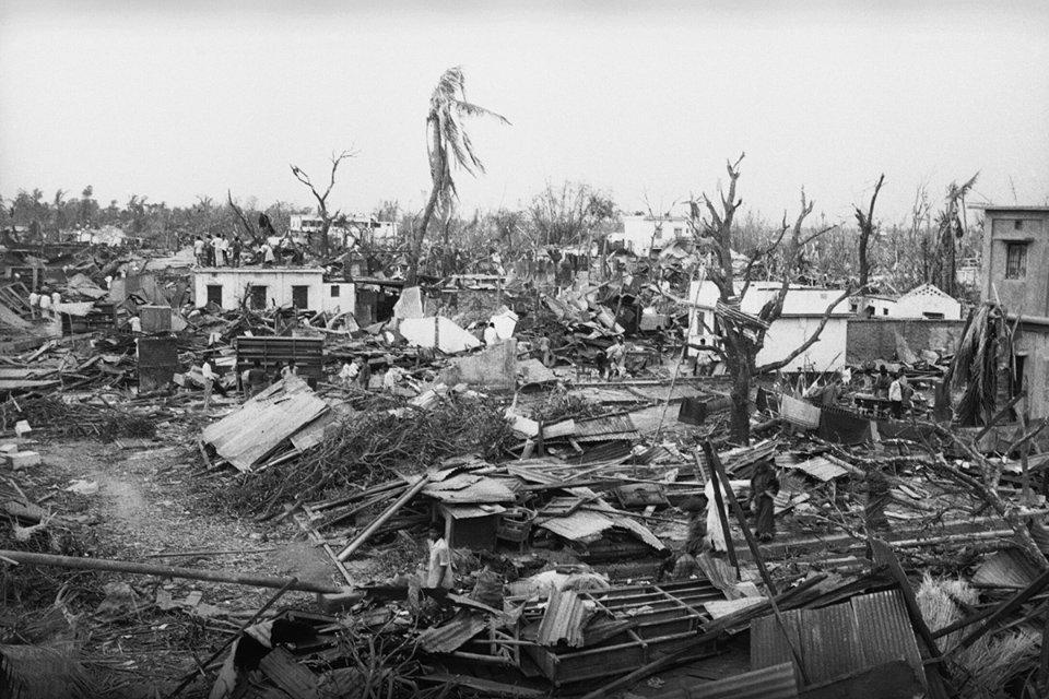 Последствия урагана в Бангладеш