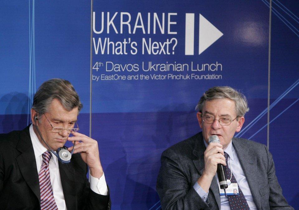 Віктор Ющенко в Давосі / УНІАН