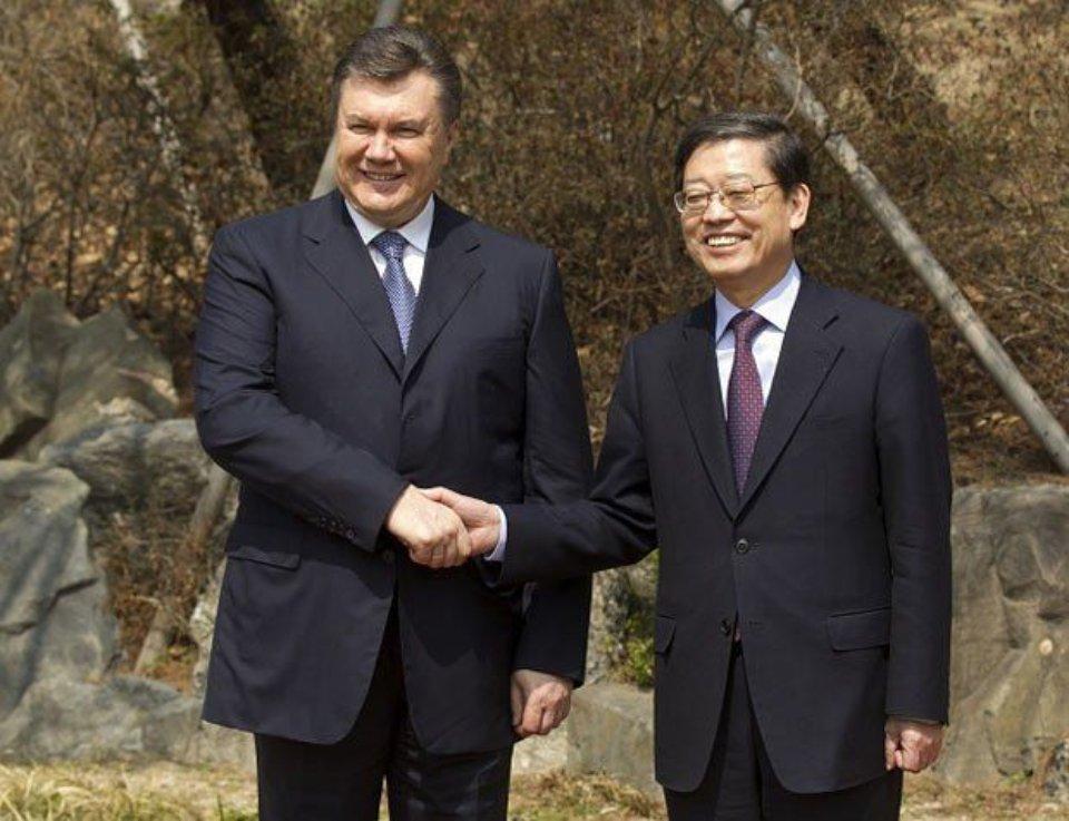 Віктор Янукович та Джи Санг Чоєм / Офіційний сайт президента