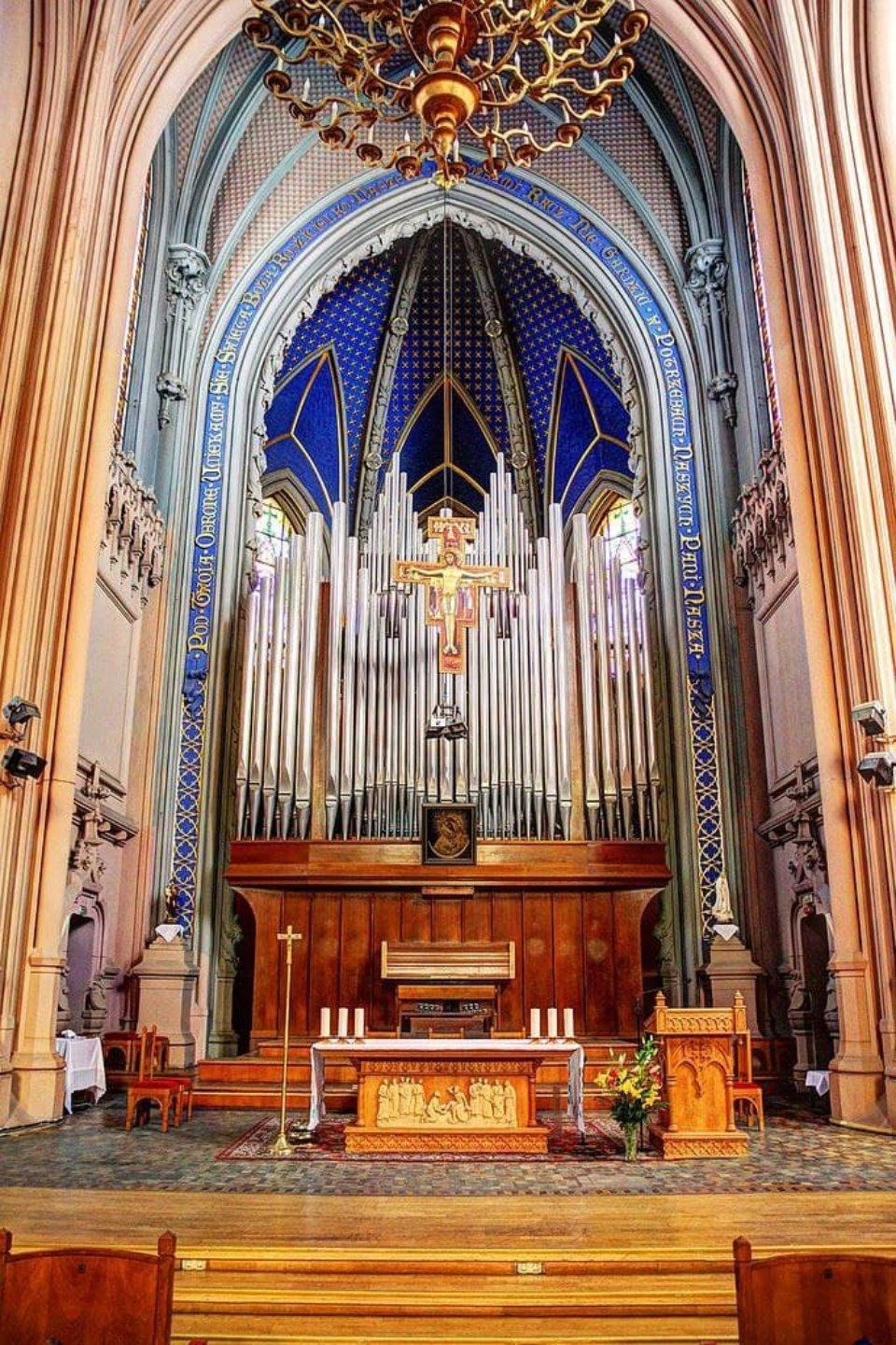 Орган в костелі Святого Миколая до пожежі
