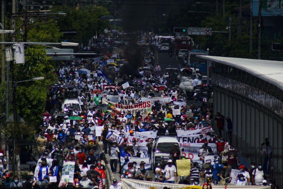 Протест в Сальвадоре