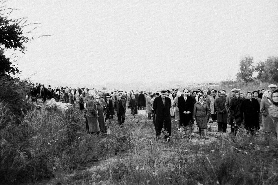 Стихійний мітинг в Бабиному Яру 29 вересня 1966 року