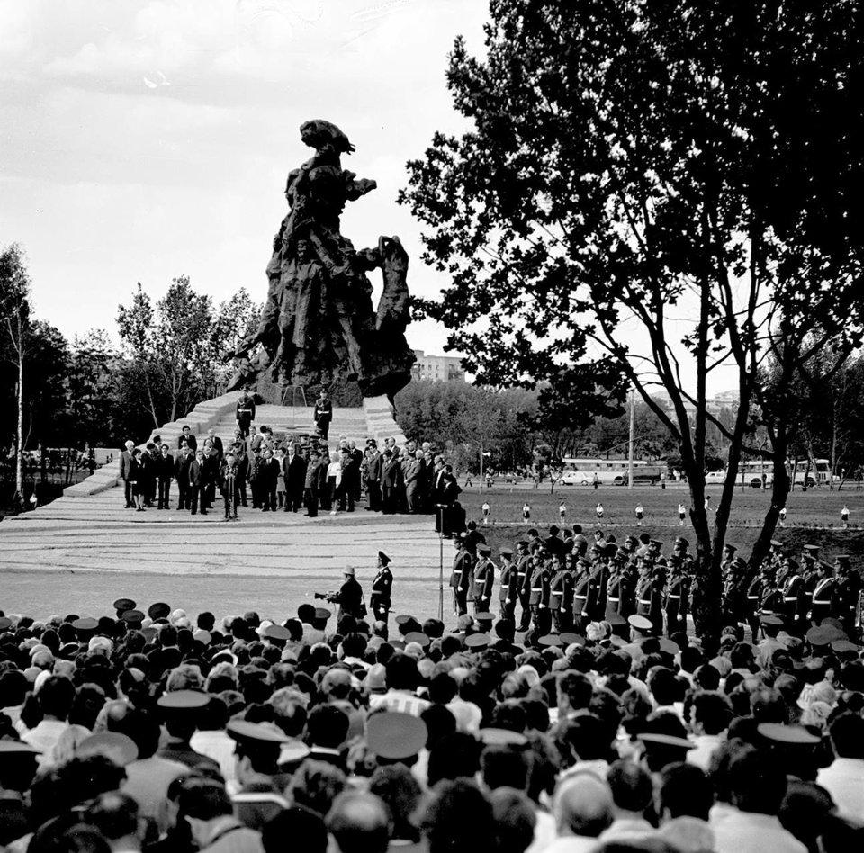 Пам'ятнику радянським громадянам і військовополоненим, розстріляним німецькими фашистами