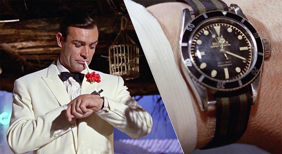 Колись Джеймс Бонд обирав годинники Rolex