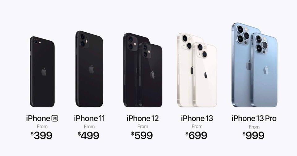 Лінійка актуальних гаджетів від Apple