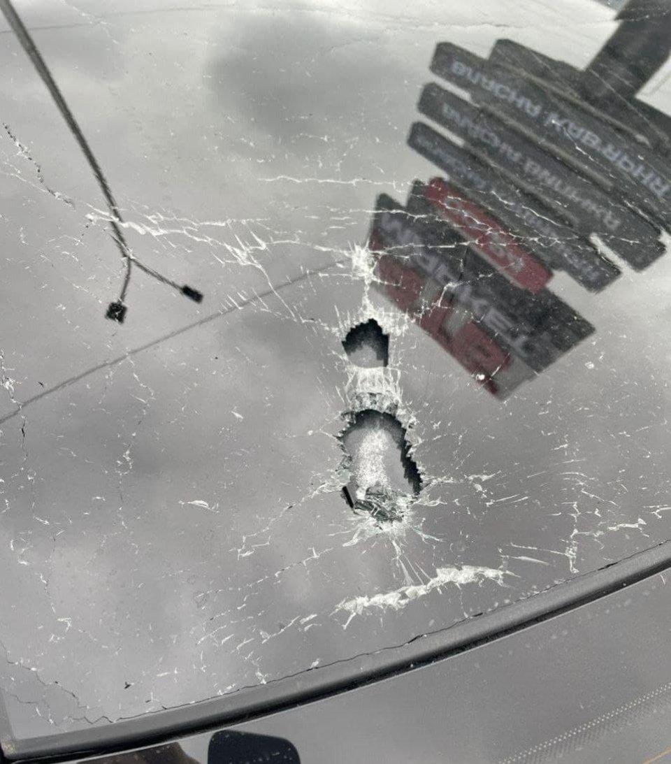 Розстріляна машина Сергія Шефіра
