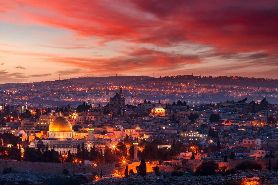 Вічне місто на заході сонця
