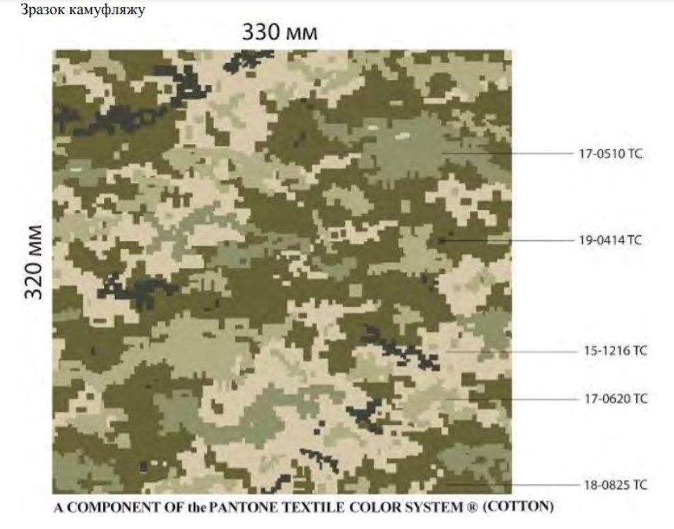 Офіційний камуфляж Збройних Сил України