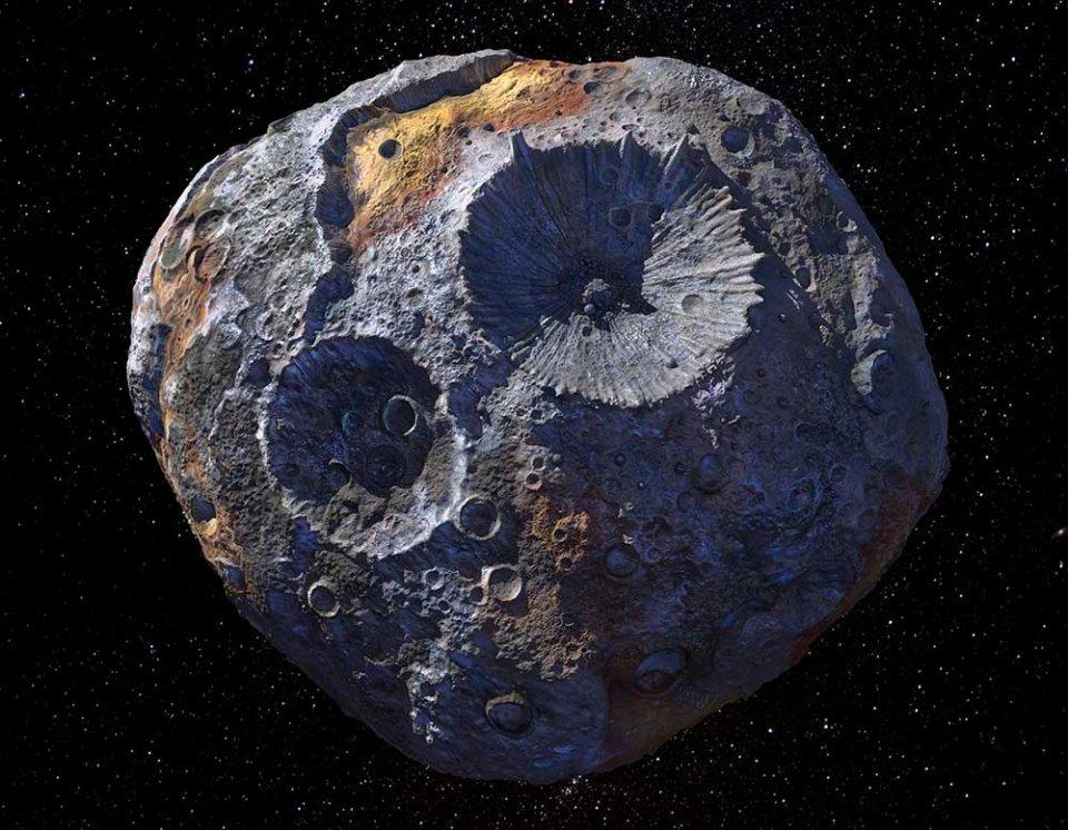 Астероїд Психея