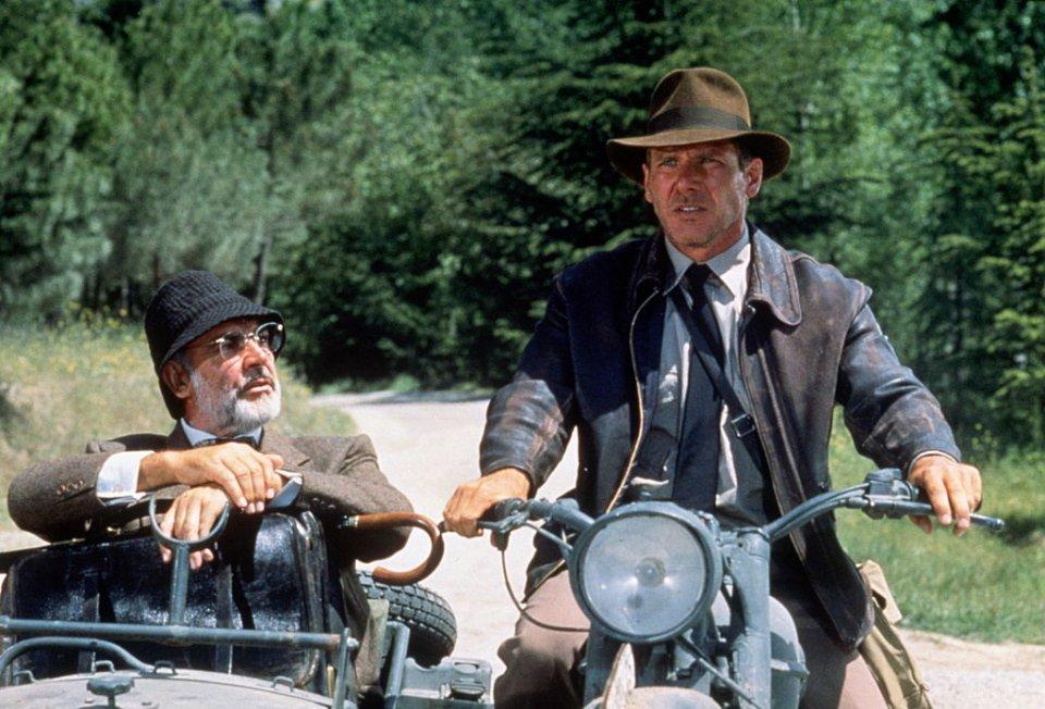 1989 році Коннері зіграв професора Генрі Джонса у першому фільмі серії про американського археолога Індіана Джонса / Getty Images