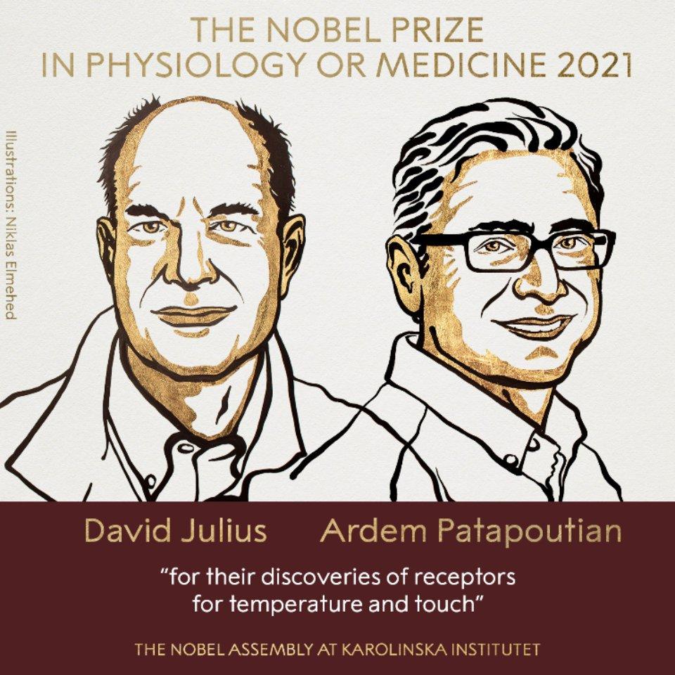 NobelPrize / Twitter