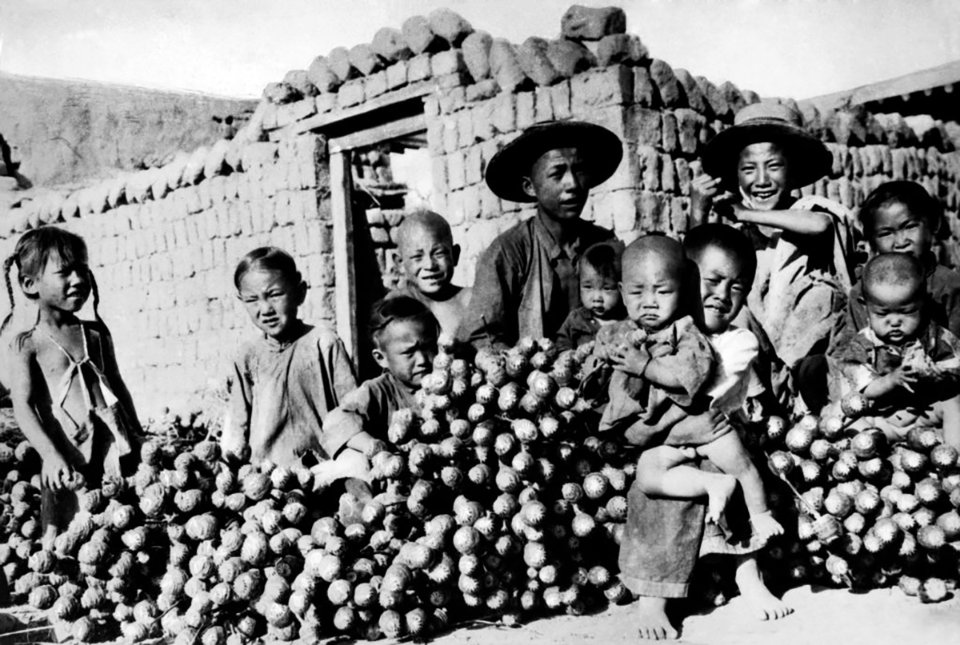 Діти китайських фермерів