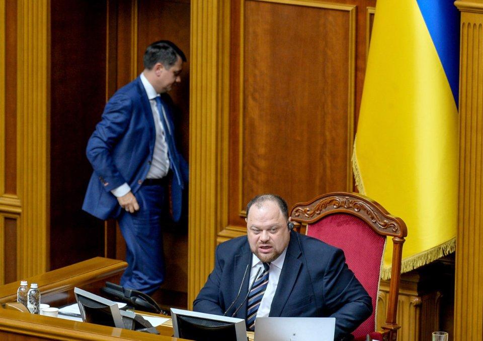 Руслан Стефанчук і Дмитро Разумков