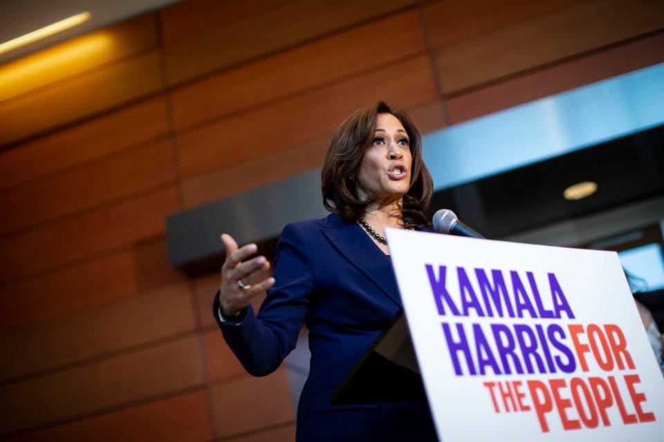 Камала Харріс, майбутній віцепрезидент США / Getty Images