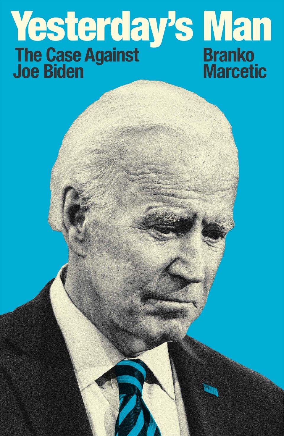 Обкладинка книги Бранко Марсетіча Yesterday's Man / Amazon