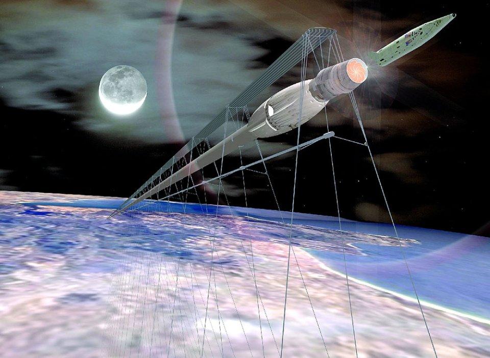 Космічний трамвай / відкриті джерела