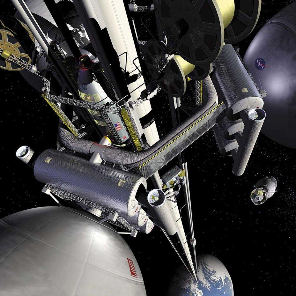 Космічний ліфт / відкриті джерела