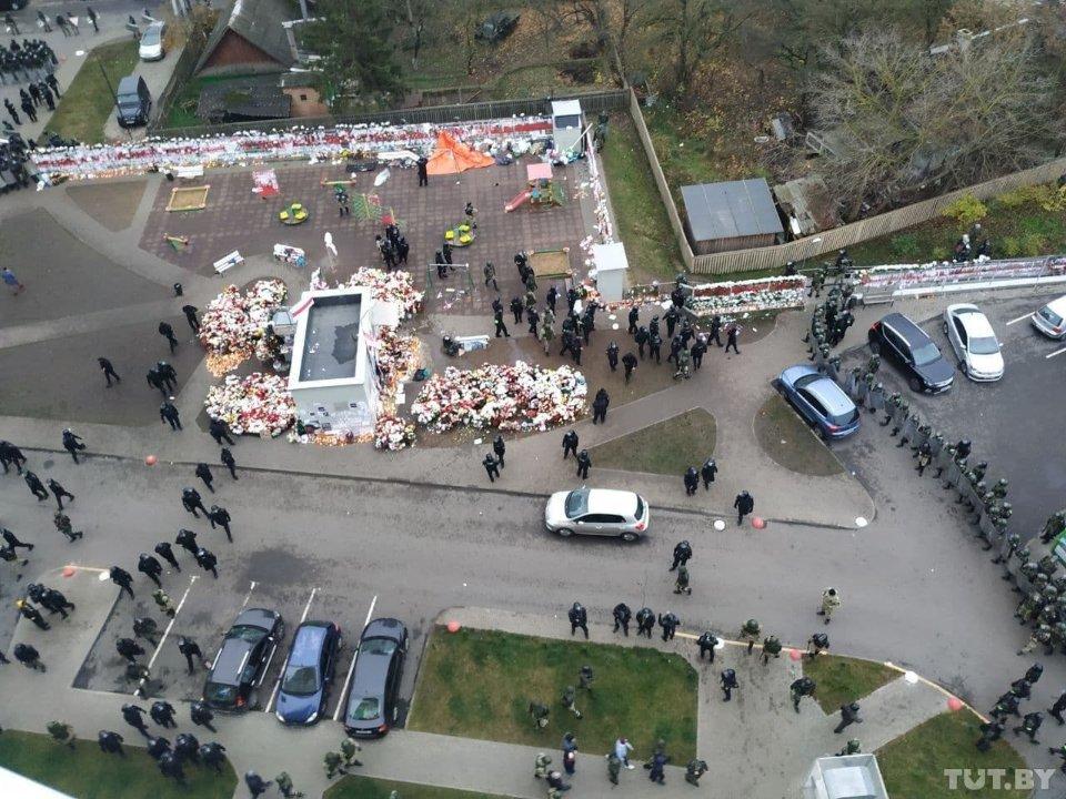 Площа Змін у Мінську