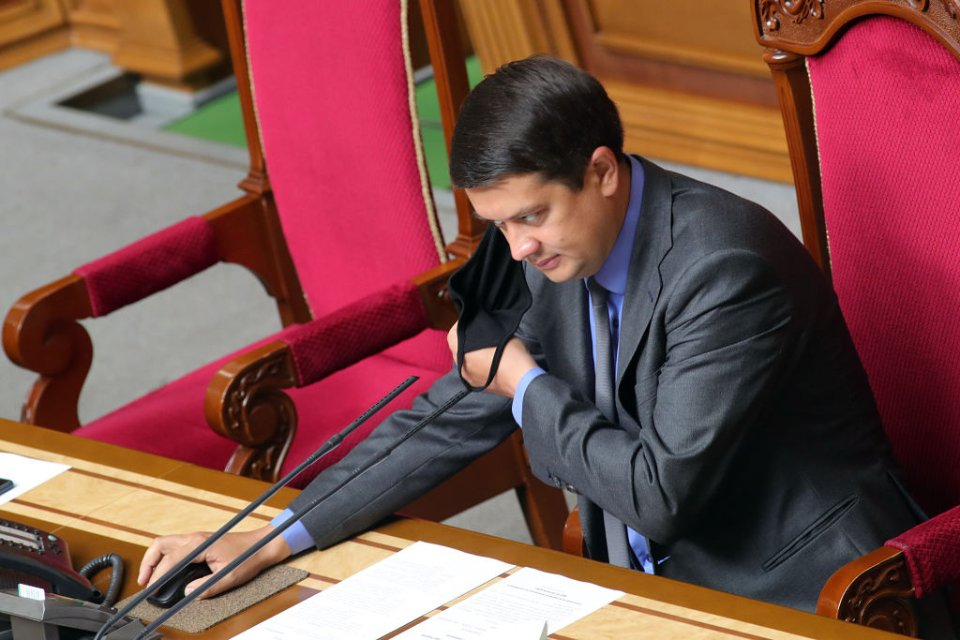 Наливайченко запевняє, що підтримає законопроєкт Дмитра Разумкова / Getty images