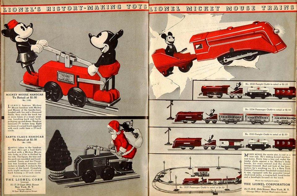 Каталог 1934 року з тематичними товарами. Усього містив 76 сторінок