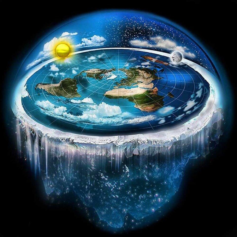 Такою уявляють нашу планету прихильники теорії пласкої Землі / відкриті джерела
