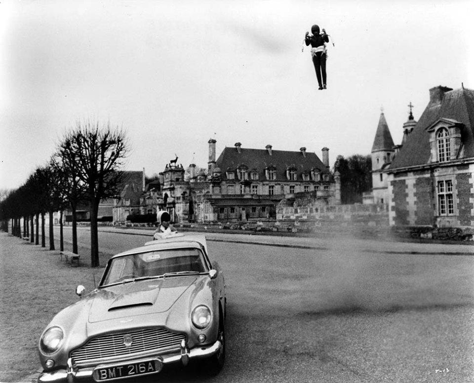 Джетпак у фільмі «Кульова блискавка», що вийшов 55 років тому, був справжній/GettyImages
