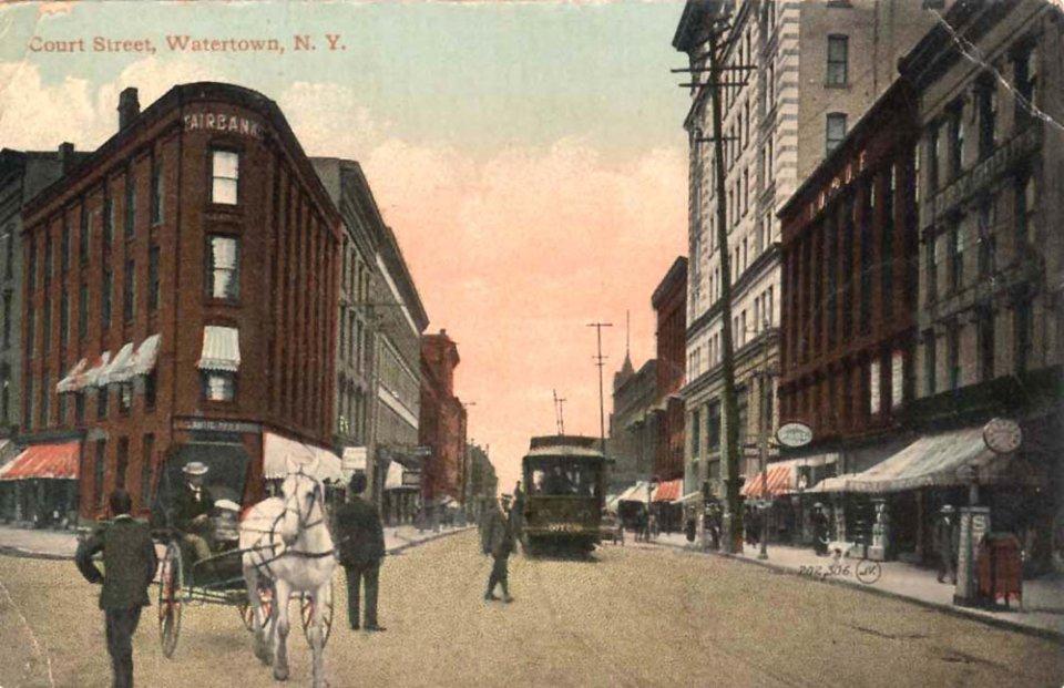 Так виглядав Вотертаун на початку ХХ століття / watertown-ny.gov