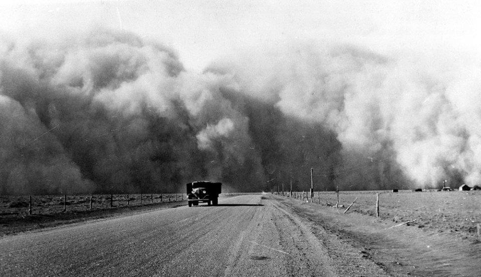 Пилова буря в штаті Колорадо, 1936 рік / GettyImages
