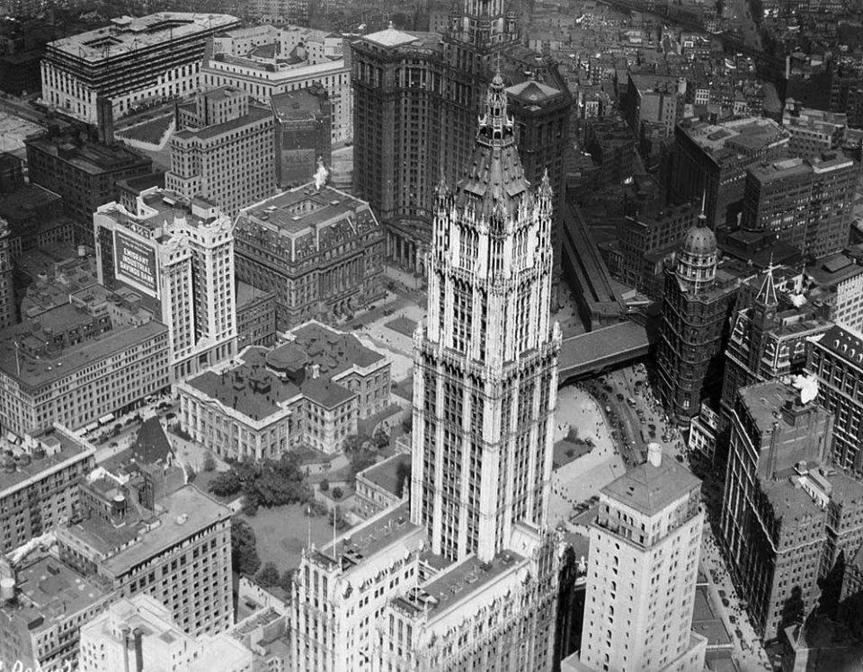 Хмарочом Вулворта в центрі Нью-Йорка. У 1998 році компанія його продала через фінансові проблеми / GettyImages