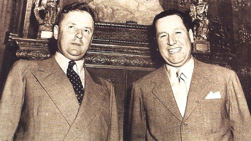 Рональд Ріхтер і Хуан Перон