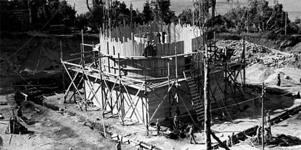 Спорудження реактору на острові Уемуль