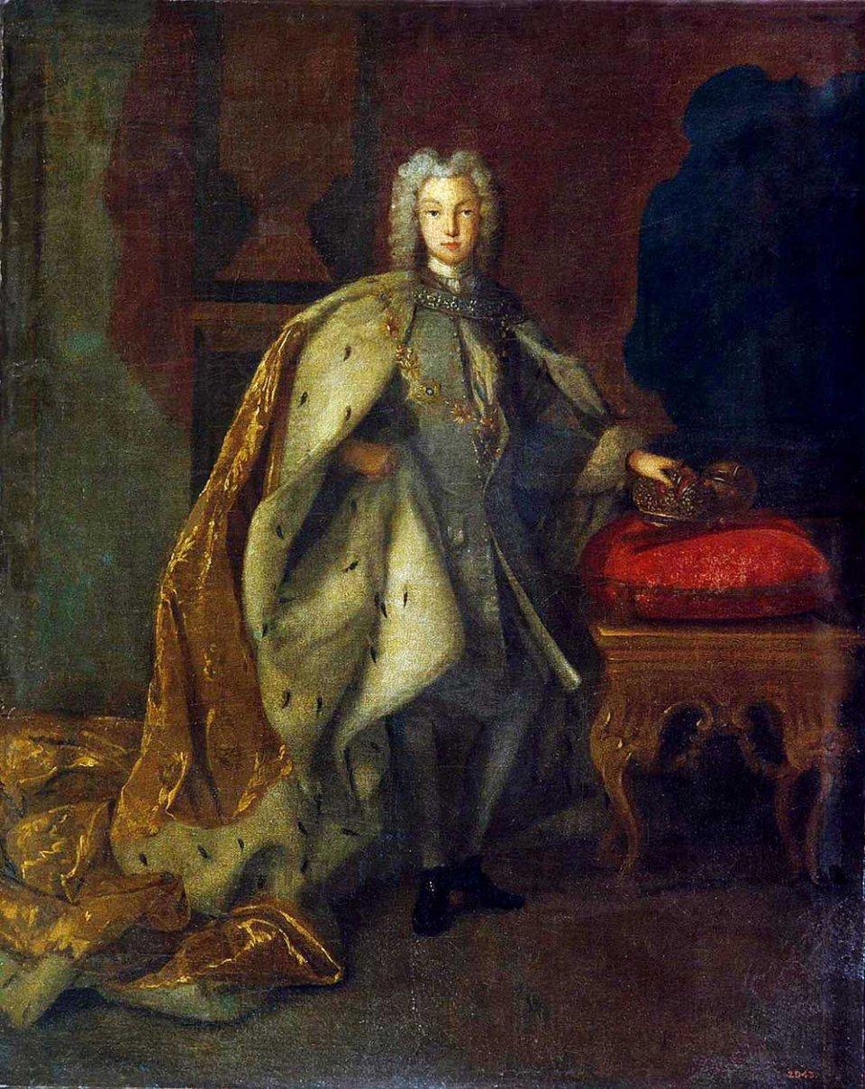 Російський імператор Петро ІІ заразився віспою під час підготовки до весілля і помер в 14-річному віці. Портрет 1728 року / rusmuseumvrm.ru