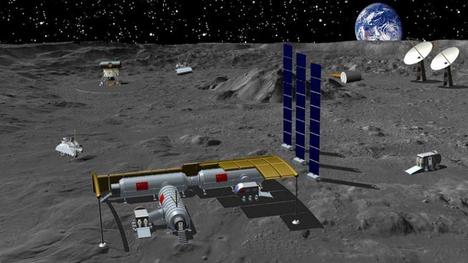 Китайська місячна база