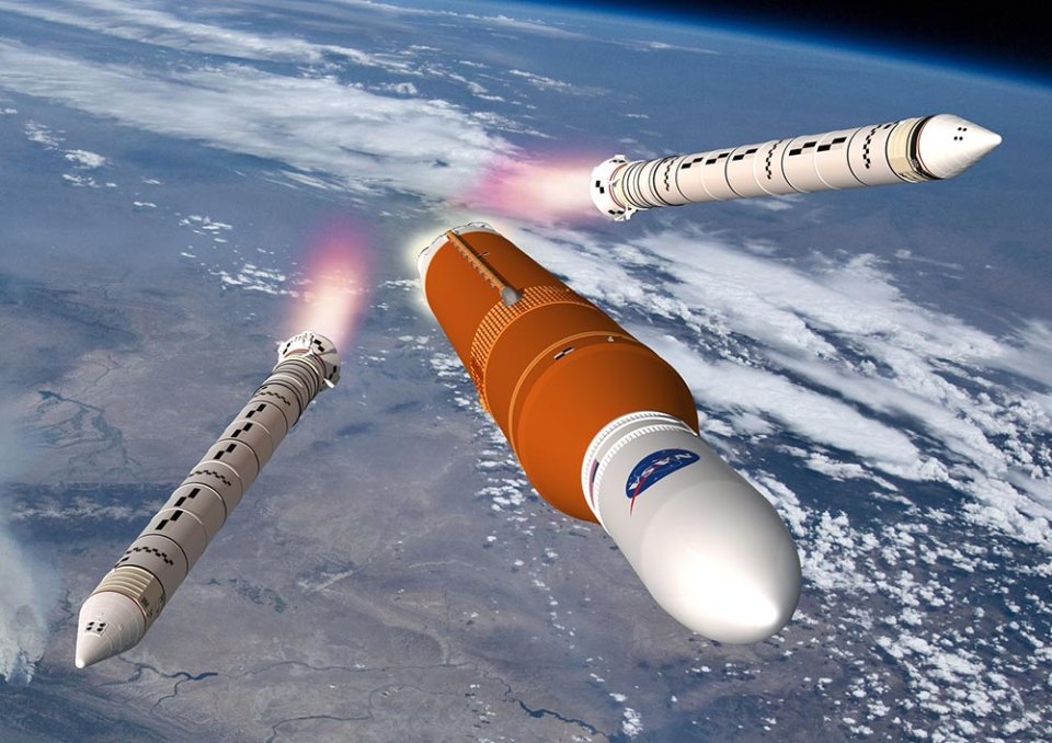 Нова надважка ракета-носій NASA Space Launch System