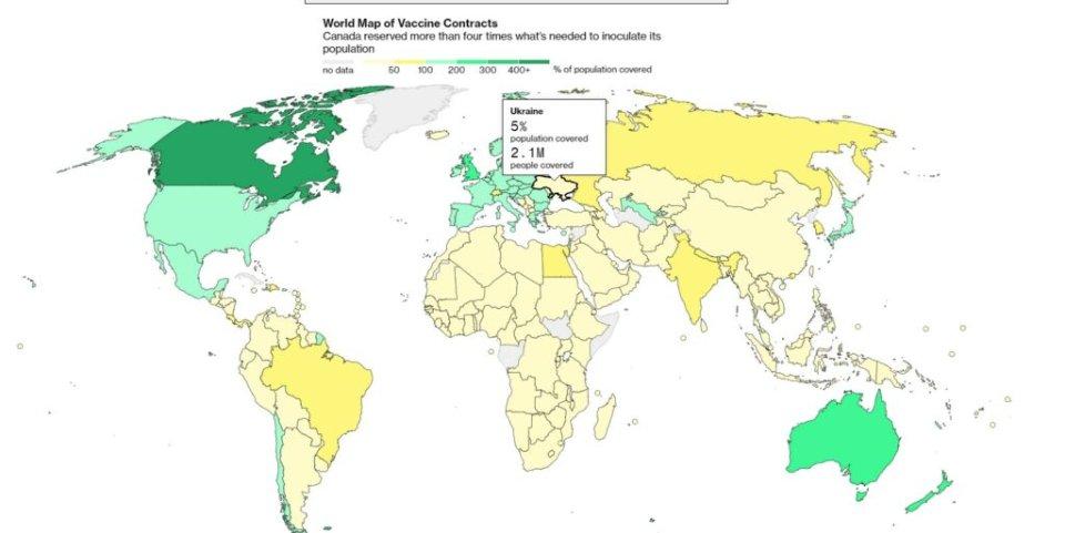 Інфографіка Bloomberg